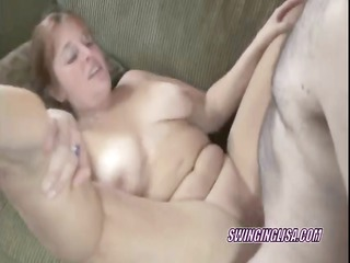 redhead liisa is getting her aged twat fucked