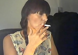 british mature smoker #3